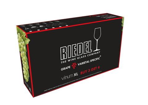 Набор из 4-х бокалов для вина Oaked Chardonnay Pay 3 Get 4  552 мл, артикул 7416/57. Серия Vinum XL