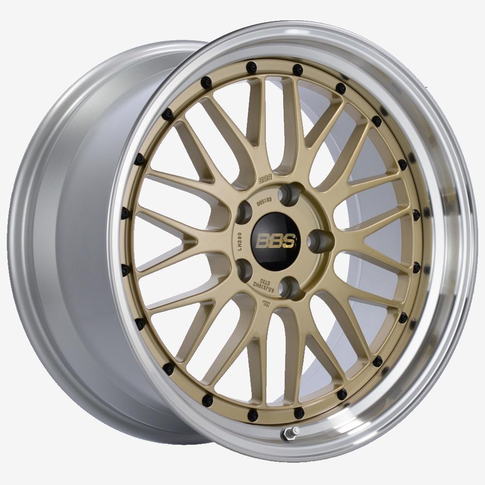 Диск колесный BBS LM 7x17 4x100 ET48 CB70.0 gold