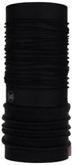 Элитная утепленная мультибандана Buff Polar Solid black