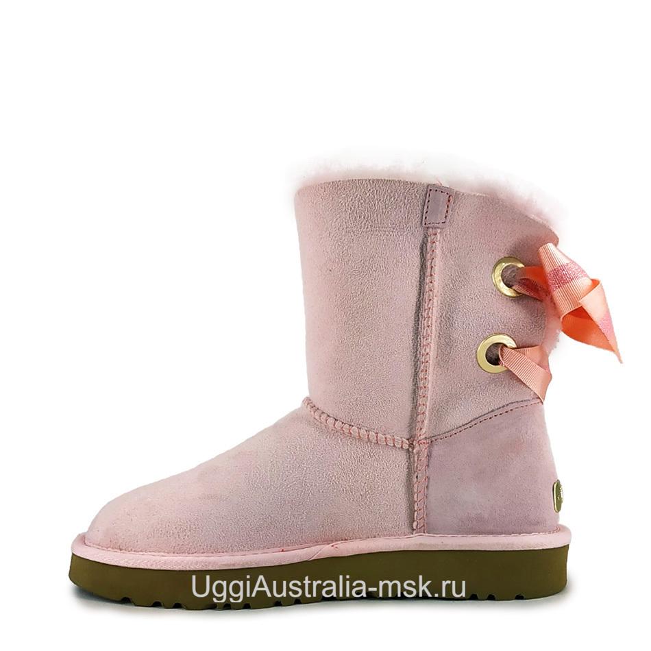 UGG Bailey Bow Customizable Pink