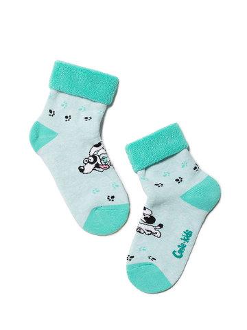 Детские носки Sof-Tiki 6С-19СП (махровые с отворотом) рис. 223 Conte Kids