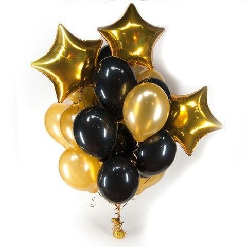 Связка фольгированных шаров #55430