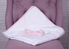 Летний конверт плед Classic (розовый)