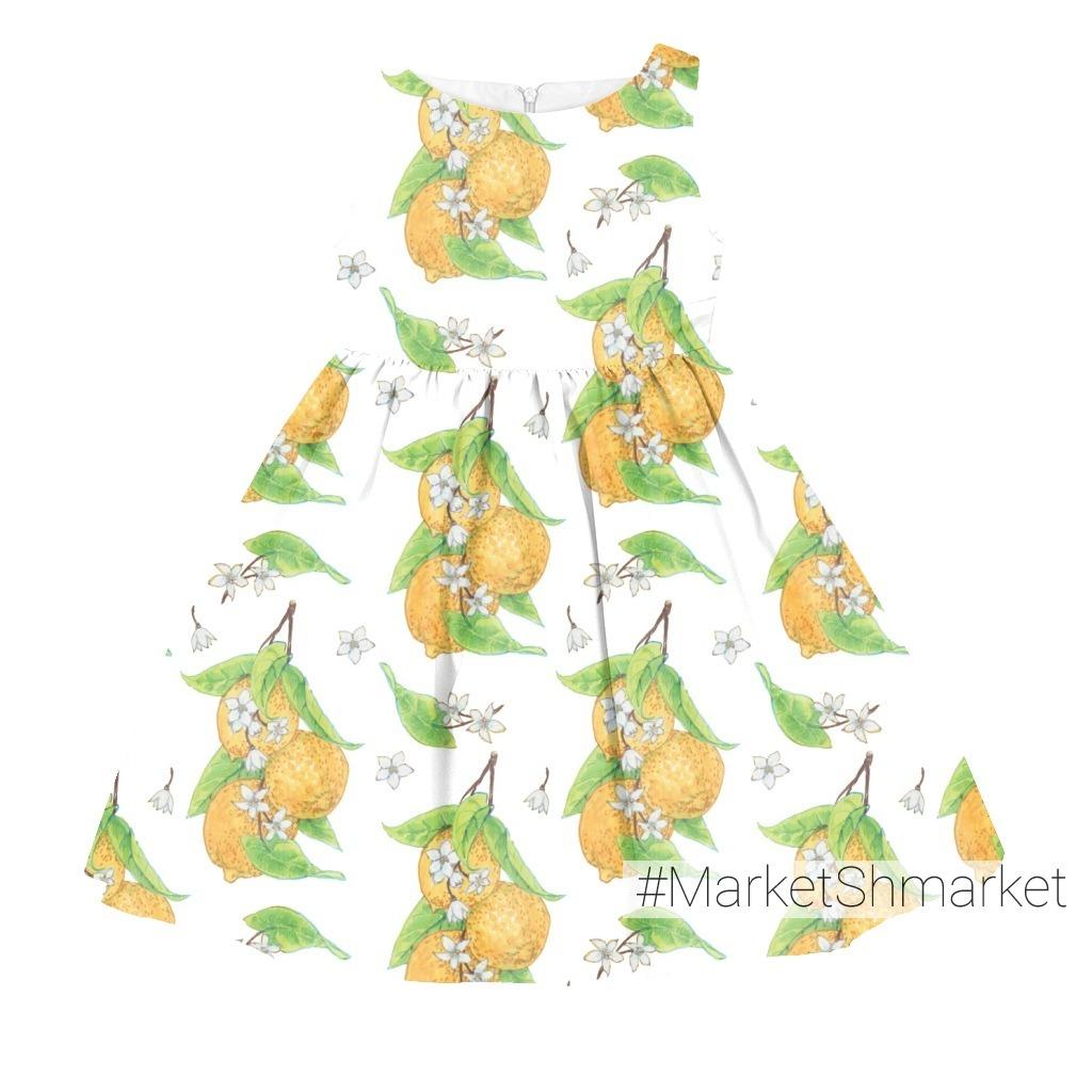 Лимоны на белом