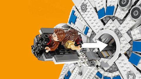 LEGO Star Wars: Сокол Тысячелетия на Дуге Кесселя 75212 — Kessel Run Millennium Falcon — Лего Звездные войны Стар Ворз