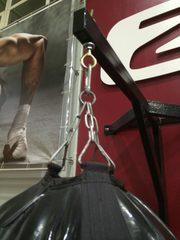 Боксерская груша черная 'OLD SCHOOL' 100% ручной работы