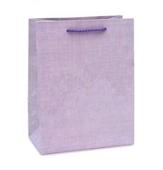 Пакет подарочный  Классика (фиолетовый)26.4х32.7х13.6