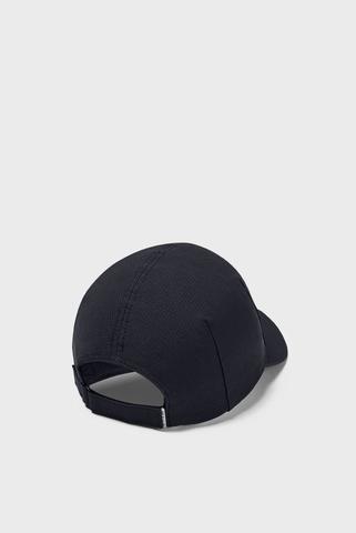 Женская черная кепка UA Launch Run Cap Under Armour
