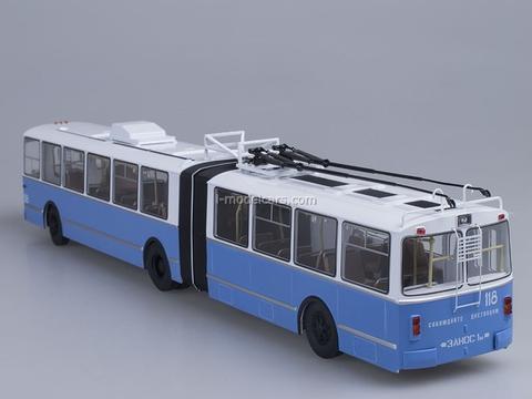 ZiU-10 ZiU-683 trolleybus white-blue 1:43 Start Scale Models (SSM)