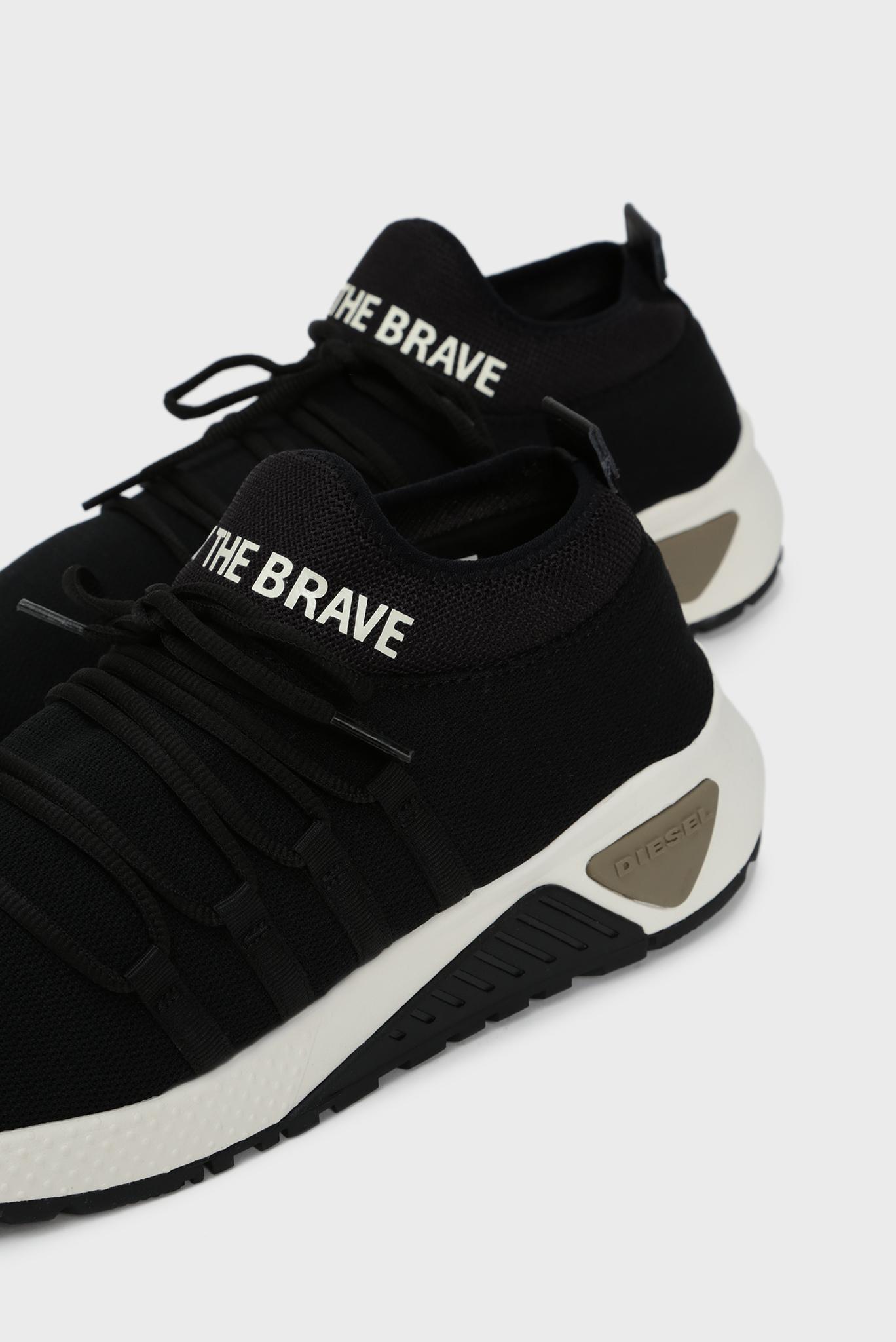 Мужские черные кроссовки SKB Diesel
