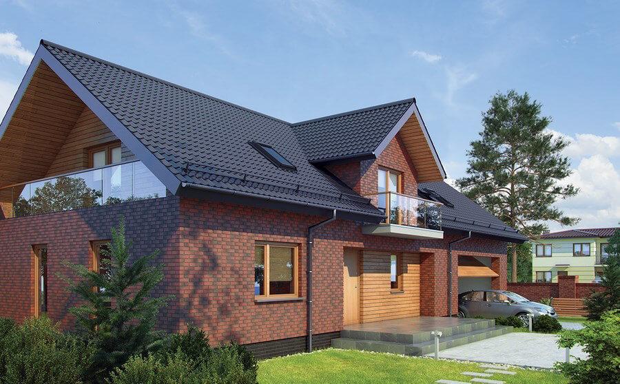 King Klinker - The secret garden (05), Dream House, 65x250x10, RF - Клинкерная плитка для фасада и внутренней отделки