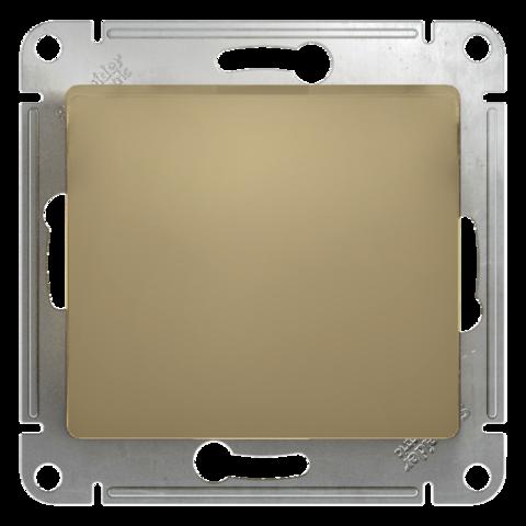 Выключатель одноклавишный, 10АХ. Цвет Титан. Schneider Electric Glossa. GSL000411