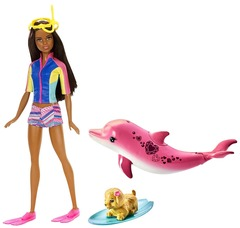 Кукла Барби и Волшебные дельфины