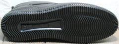 Ботинки на плоской подошве мужские зимние Rifellini Rovigo C8208 Black