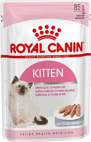 Royal Canin Kitten Instinctive паштет для котят от 4 до 12 месяцев, 85 г