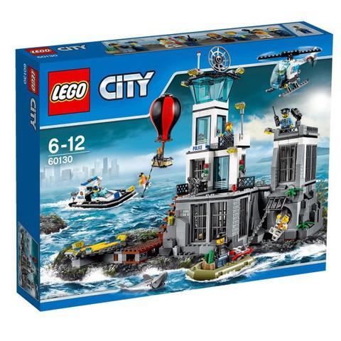 LEGO City: Остров-тюрьма 60130 — Prison Island — Лего Сити Город