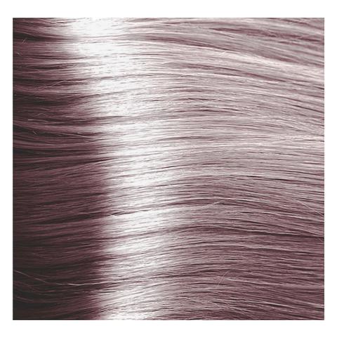 Крем краска для волос с гиалуроновой кислотой Kapous, 100 мл - HY 9.21  Очень светлый  блондин фиолетовый пепельный
