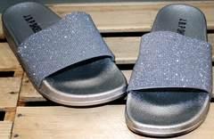 Сланцы шлепанцы J.B.P. Shoes Nu1213 Silver.