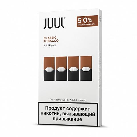 Картридж Juul Labs x4 JUUL 59 мг, 0,7 мл - Classic Tobacco