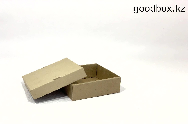 коробка из картона с отдельной крышкой