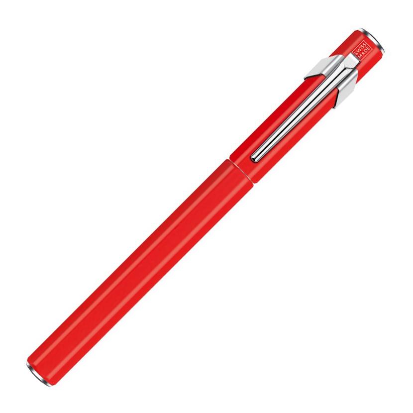 Carandache Office 849 Classic Seasons Greetings - Red, перьевая ручка, B, подарочная упаковка