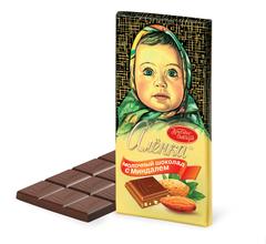 "Шоколад ""Алёнка"" с миндалем 100г"