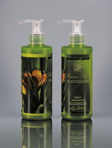 Liv delano Green Style Мусс деликатный для очищения лица и удаления косметики 190гр