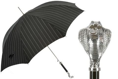 Зонт-трость Pasotti Luxury Cobra Umbrella,  Италия (арт.478 1094-1 W99)