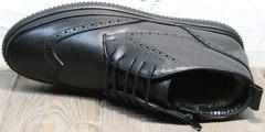 Зимние полуботинки мужские Rifellini Rovigo C8208 Black