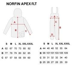 Костюм рыболовный плавающий зимний NORFIN Apex FLT, размер XXL