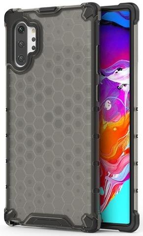 Чехол в тонированном корпусе на Samsung Galaxy Note 10 плюс, ударопрочный от Caseport, серия Honey