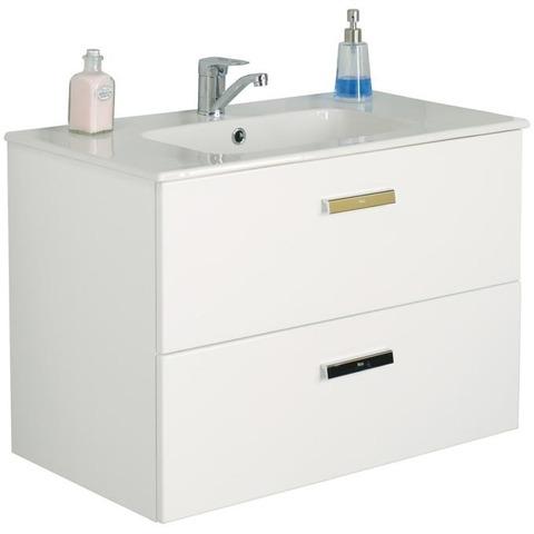 Мебель для ванной 80см. Roca Victoria Nord белый ZRU9000032/732799С000