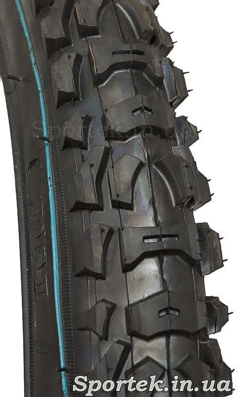 Покрышка на детский велосипед 16 х 2 дюйма (54-305 ISO) - протектор