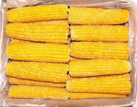 Кукуруза в початках (Россия) Цена указана за 1 кг.