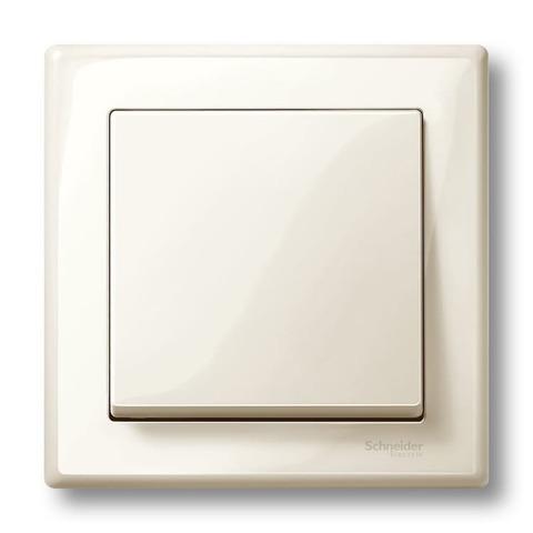 Рамка на 1 пост. Цвет Бежевый. Merten. M-Smart System M. MTN478144