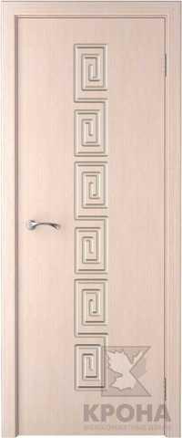 Дверь Крона Греция, цвет беленый дуб, глухая