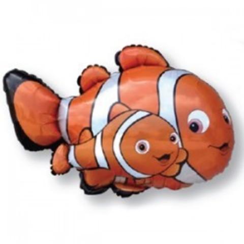 Рыба-клоун Немо 81см с гелием.