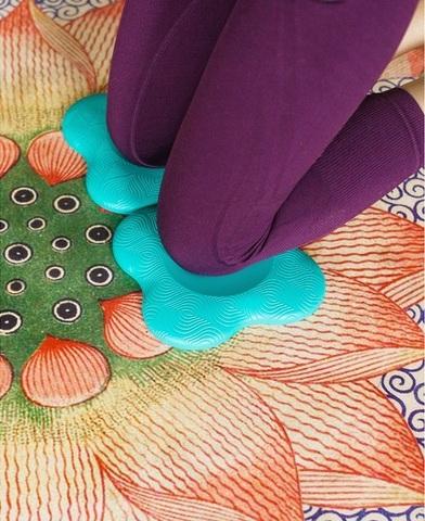 Коврик под колени для йоги 19*19 см , 2 шт