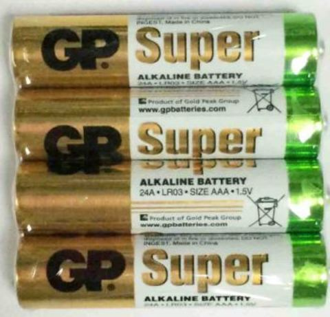 Элемент питания GP LR03 24A Super Alkaline shrink4/96