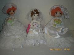 Кукла ручной работы Невеста