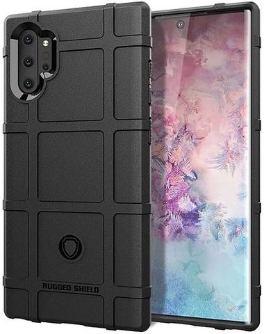 Чехол Samsung Galaxy Note 10+ цвет Black (черный), серия Armor, Caseport