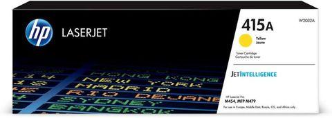 Оригинальный картридж HP W2032A 415A желтый