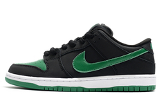 Nike SB Dunk Low 'Black/Green/White'