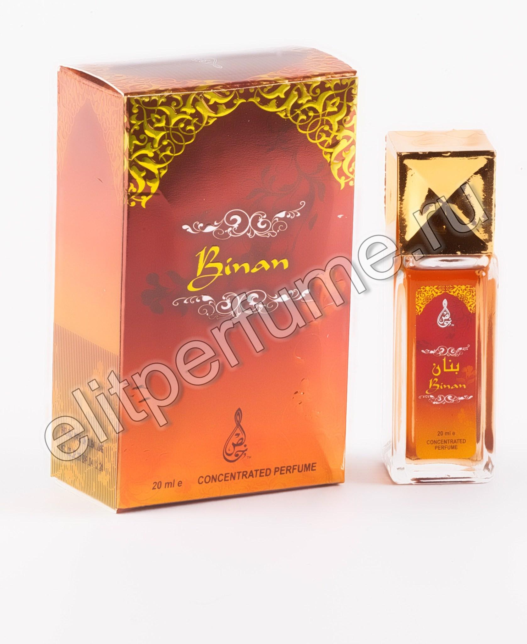 Binan Бинан 20 мл арабские масляные духи от Халис Khalis Perfumes