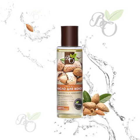 Органическое масло для волос «Укрепление и рост», Bliss organic 110 мл