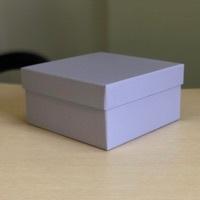 Квадратная коробка 19см .Цвет; Светло серый . В розницу 200 рублей