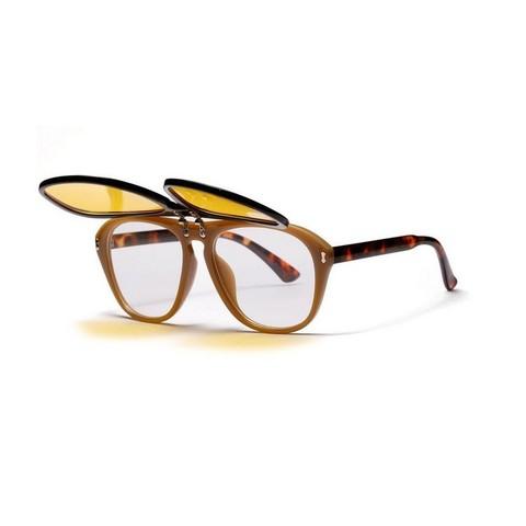 Солнцезащитные очки 1341001s Желтый - фото