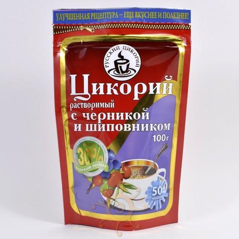 Цикорий растворимый с шиповником и черникой Русский Цикорий, 100г