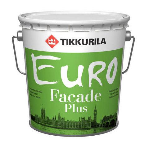 Tikkurila Euro Faсade Plus/Тиккурила Евро Фасад Плюс акриловая фасадная краска с силиконом