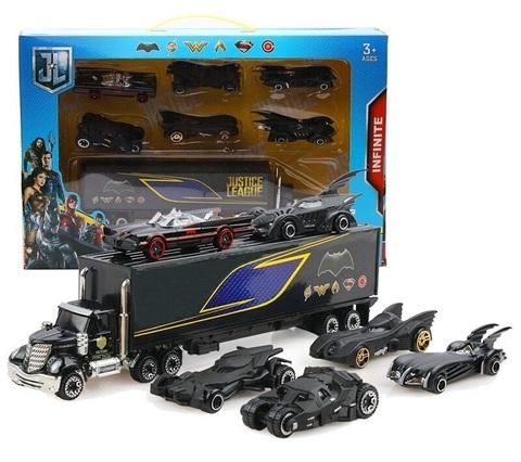 Бэтмен набор машинок с грузовиком